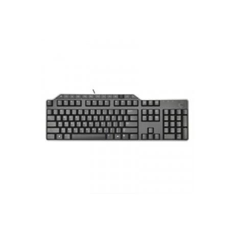Tastatur: DEUTSCH (Quertz) DELL KB-522 Multimedia-USB-Tastatur mit Kabel - Schwarz