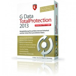 G DataTotalprotection 2013 1PC Lizenz 12 Monate