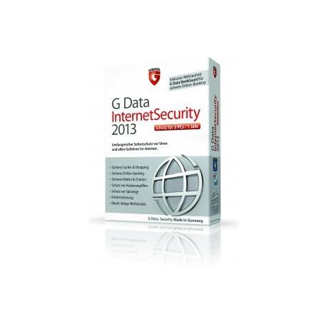 G DataInternet Security 2013 3PCs 12 Monate
